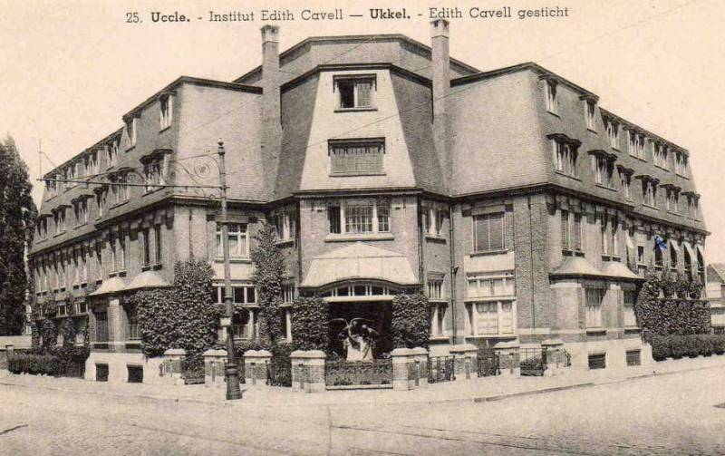 Uccle Ukkel Monument 224 Edith Cavell Et Marie Depage