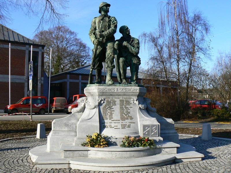 Soignies  Zinnik  - Monument Aux Morts De 1914