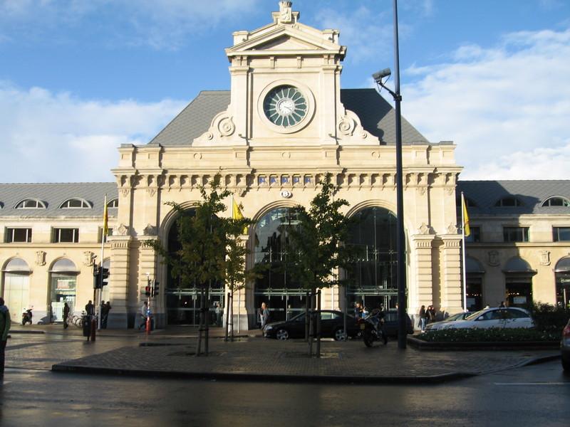 Namur (Namen) - Plaque commémorative 1914 - 1918 dans la gare Architecture