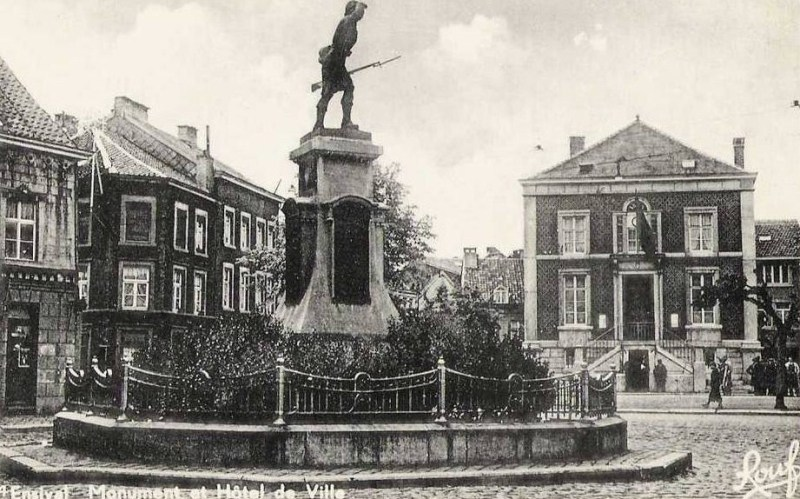 Ensival - Monument aux morts de 1914 - 1918